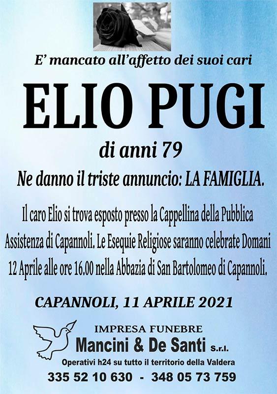 necrologio Olio Pugi - funerale a Capannoli - impresa funebre Mancini & De Santi - Riti funebri a Pontedera - Onoranze funebre Selvatelle